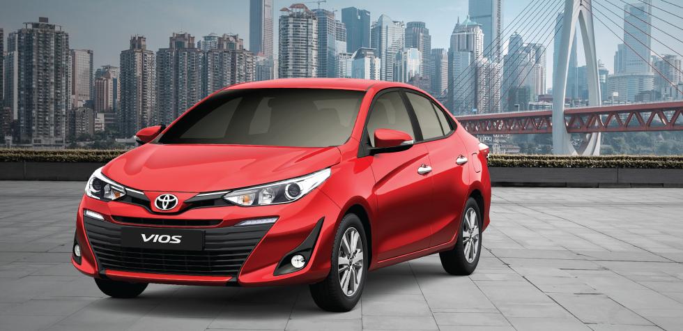 Bảng giá xe Toyota Hải Dương