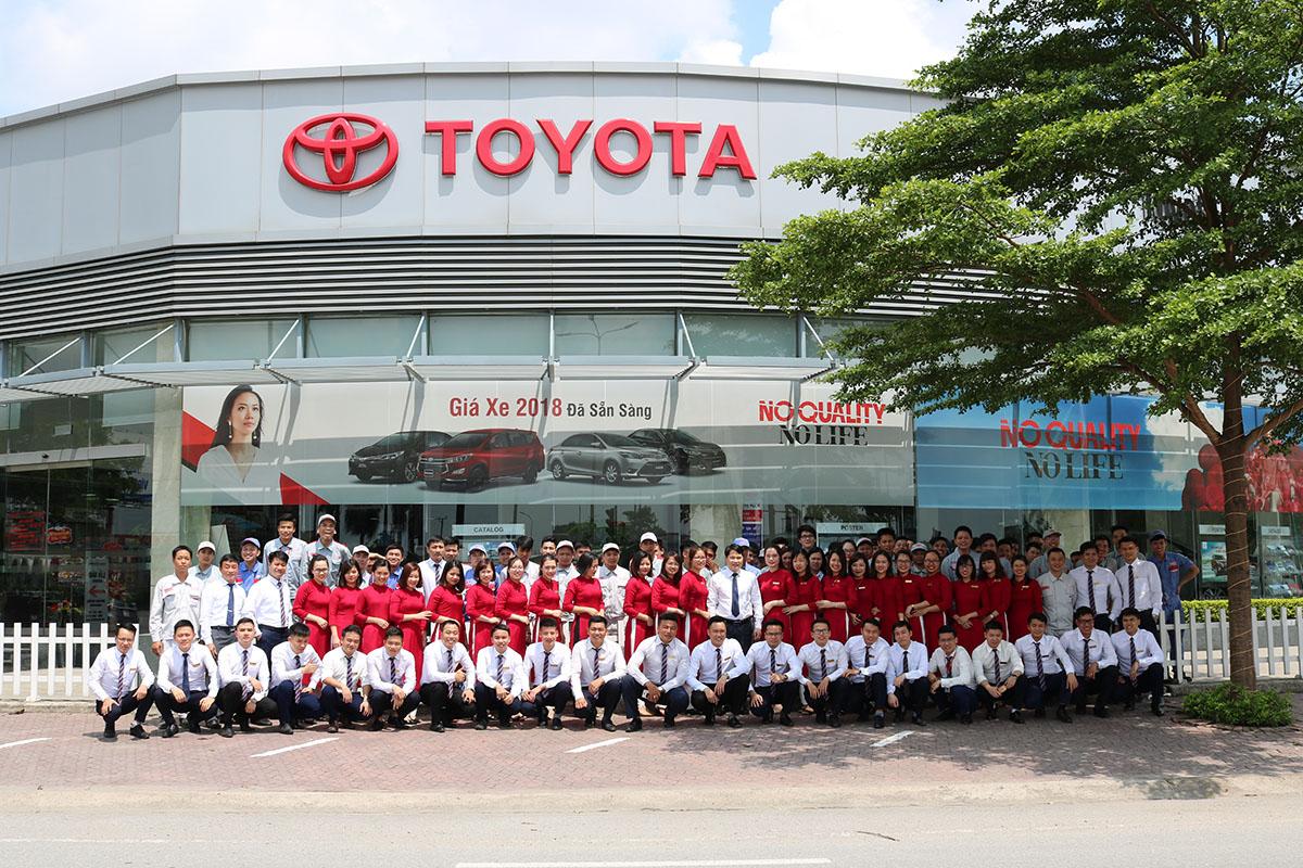 mua xe Toyota tại Hải Dương