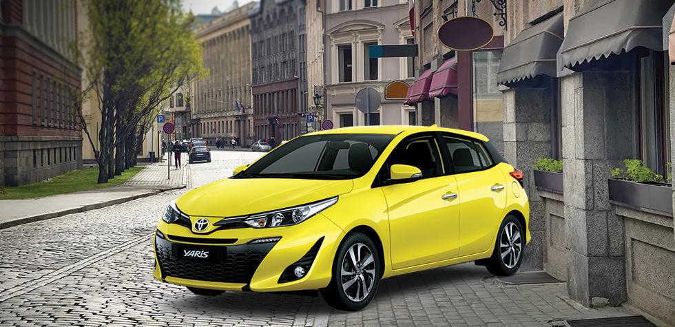 Bảng giá xe Toyota tại Hải Dương